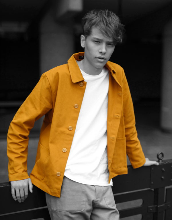 colchik jacket rust