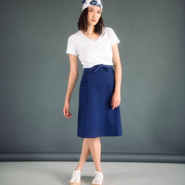 Our Colchik shirt is just perfect for this season 💙 #aboutcolchik #colchikskirt #colchikindigo #workwearstyle #qualityclothing #qualityfashion #erhicalfashion #slowfashion #simplicity #lessismore #womanfashion #womenstyle