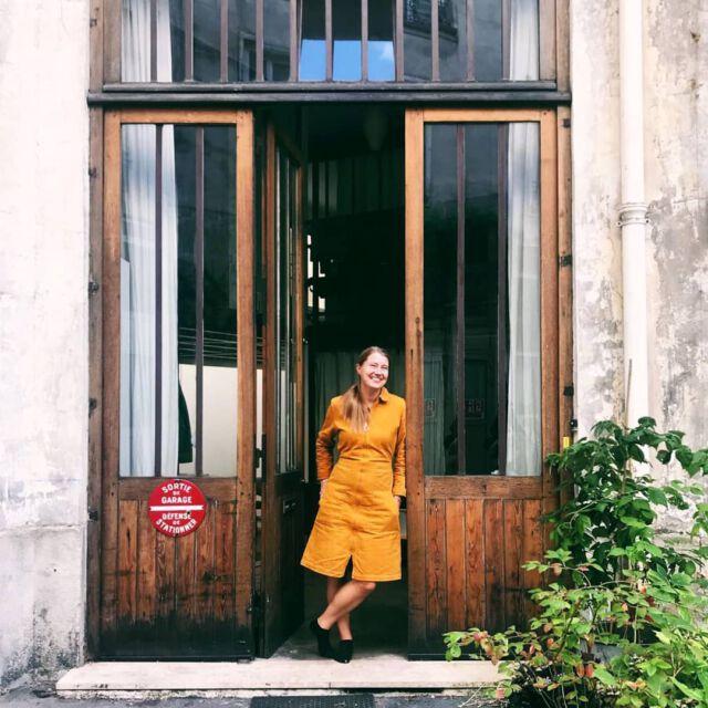 Good morning 🙌 Our #colchikboilerdress by @eva_lange 💛💛💛 #wearecolchik #colchikrust #workwearforwomen #happyfashion #slowfashion #ethicalfashion #positivefashion #denimlove #aboutcolchik