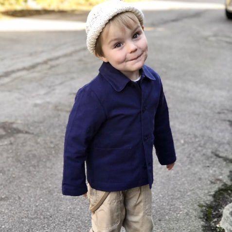 Little boy with style. Thank you for the picture @marsha_bythesea 🎈 #aboutcolchik #colchikjacket #colchikindigo #slowfashion #slowdesign #ethicalfashion #buyoneplantone #boyswithstyle #workerjacket #vestedetravail #kidsfashion